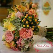 Свадебный букет пастельных оттенков — Хилари