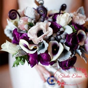 Чарівний букет на весілля - Глорі