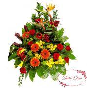 Букет цветов для поздравления — Эйфория