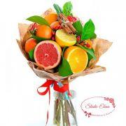 Букет из фруктов — Цитрусовая свежесть