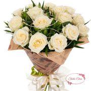 Букет из 15 кремовых роз — Зарина