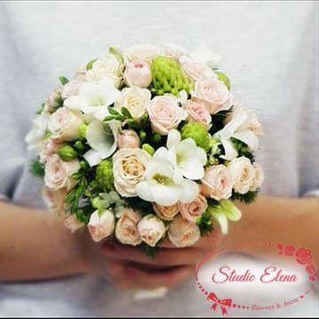 Букет нареченої на весілля - Адель