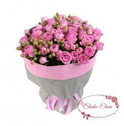 Букет з кущових троянд - Бомбастік