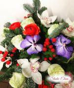 Зимові квіти в букеті - Душевно