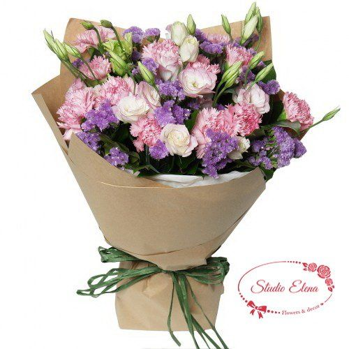 Отличный букет цветов на праздник — Адагио