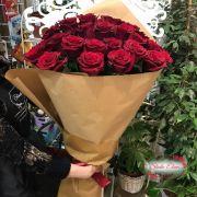 Розы в бумаге крафт — Беллимор