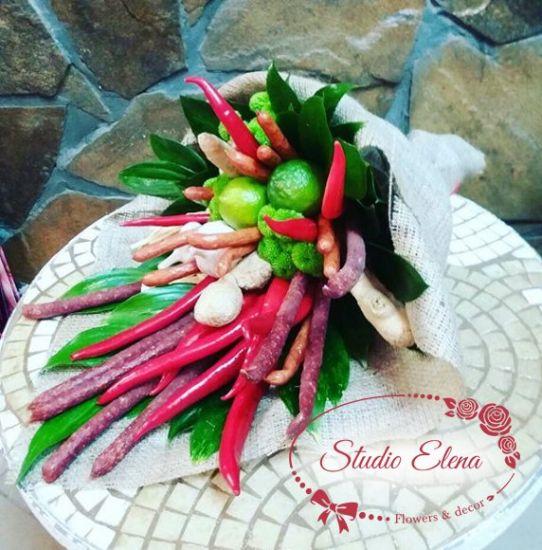 Большой букет овощей — Любовь-морковь