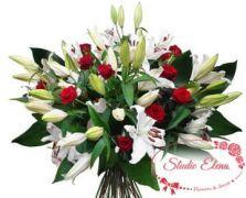 Роскошный букет цветов — Афродита