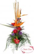 Экзотический букет цветов — Армани