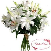 Свежий букет — Белая лилия