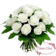 15 белых роз — Белоснежка