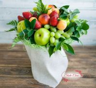 Букет з сезонними фруктами - Літо