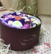 Свежие цветы и макаруны — Нентори