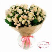 Букет кустовых роз — Волли