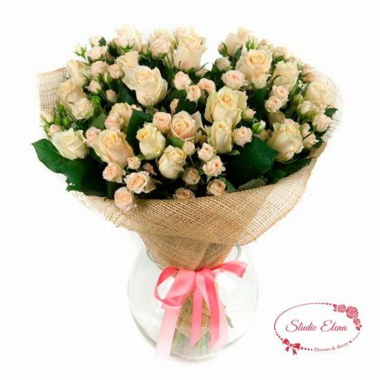 Букет кущових троянд - Воллі