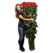 Букет з 35 гігантських троянд - Любов