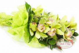 Букет из 9 орхидей цимбидиум — Элеганс