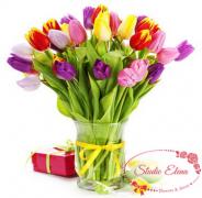 Большой букет тюльпанов — Изысканность