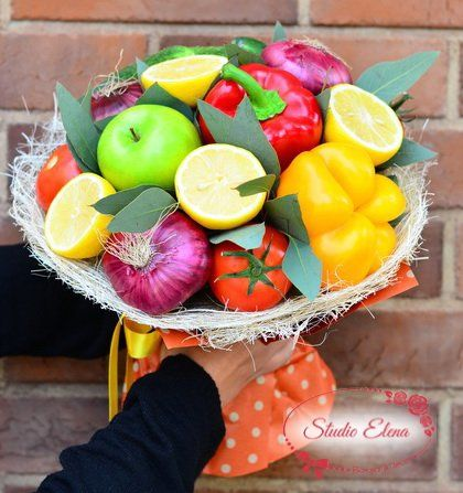 Овочевий букет - Сеньйор-помідор