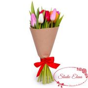 Креативный букет тюльпанов — Кристи