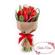 Гарний букет тюльпанів - Червоні вітрила