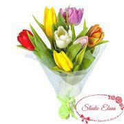 Букет из 7 тюльпанов — Лунная соната