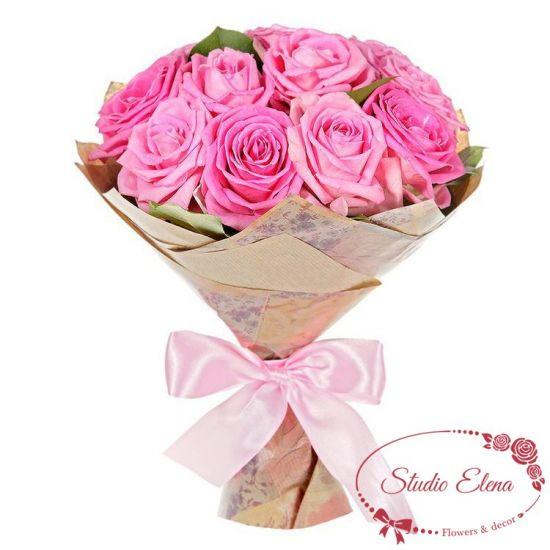Восхитительный букет — Розовые мечты