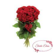 Букет из 21 красной розы для любимой – От всего сердца