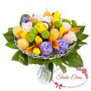 Квітневий Букетик зі свіжих квітів