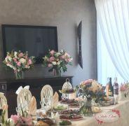 Нежные украшения для свадебного зала — Самый лучший день