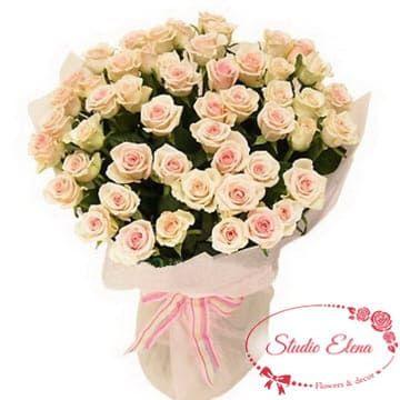Букет кремових троянд - Талея
