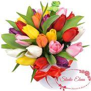 25 тюльпанов в коробке — Флай