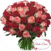Нежный букет из 35 роз — Лавина