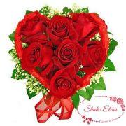 Букет сердце для любимой