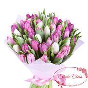 Роскошный букет из 51 тюльпана — Барокко