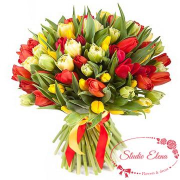 Букет з тюльпанів - Чари