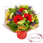 Букет осенних цветов — Бель